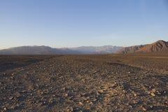贫瘠土领域在秘鲁 库存图片
