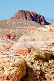 贫瘠沙漠内华达 图库摄影