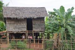 贫穷在柬埔寨 免版税图库摄影