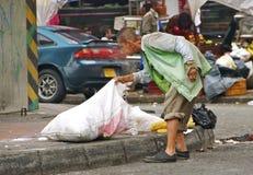 贫穷,麦德林,哥伦比亚 库存照片