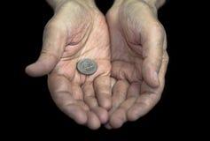 贫穷 免版税库存图片