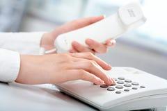 购买权电话 免版税库存图片