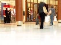 购物中心人购物 图库摄影