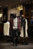 购物中心冬天时尚汇集 库存照片