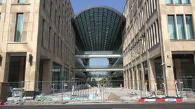 购物中心建设中 股票视频