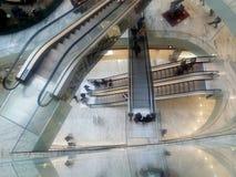 购物中心的上面 免版税图库摄影