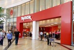 购物中心的TK Maxx界面 库存图片