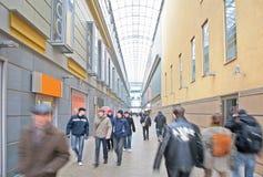 购物中心访客 图库摄影