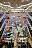 购物中心购物 库存图片