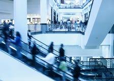 购物中心购物 库存照片