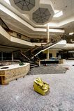 购物中心-被放弃的Randall公园购物中心-克利夫兰,俄亥俄 免版税库存图片