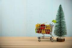 购物圣诞节假日 免版税图库摄影