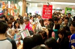 购物在香港 免版税库存照片