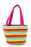 购物或海滩的袋子 免版税库存图片