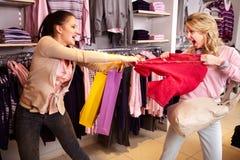 购物暴力 免版税库存图片