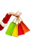 购物的袋子四 免版税库存照片