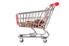购物车铸造购物v2 免版税库存图片