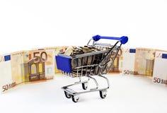 购物车 免版税图库摄影