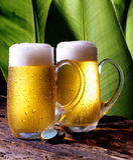 贮藏啤酒 库存图片