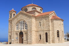 贴水教会georgios 免版税库存图片