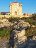 贴水教会georgious的塞浦路斯 免版税库存图片