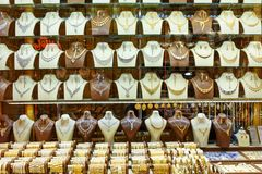 贵族义卖市场或金义卖市场首饰店在大不里士 东部阿塞拜疆省 伊朗 库存照片