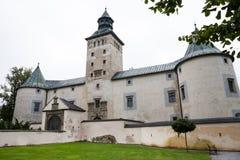 贵族乡间别墅在斯洛伐克 库存照片