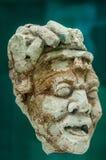 贵族的古老玛雅面孔 免版税库存照片