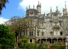 贵族的宫殿 免版税库存照片