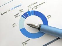 贷款百分比 免版税库存图片