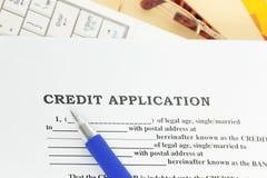 贷款请求 免版税图库摄影