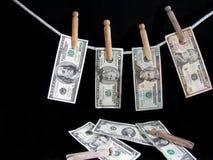 贷项行 免版税库存图片