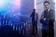 贸易、经纪和投资概念 库存图片