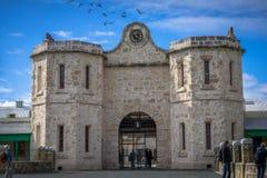 费利曼图市监狱在澳大利亚西部 库存图片