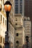 费城场面街道 免版税库存图片