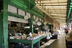 费城意大利人市场 库存照片