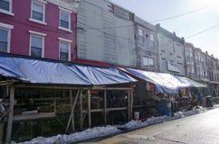 费城意大利人市场 免版税库存图片