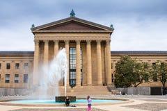费城艺术馆 图库摄影