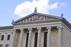 费城, PA, 7月3日:费城全国美术馆前面雕塑在宾夕法尼亚美国 库存照片