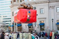 费城, PA - 2017年11月23日:每年感恩天游行在中心城市费城, PA 免版税库存图片