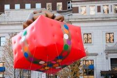 费城, PA - 2017年11月23日:每年感恩天游行在中心城市费城, PA 免版税图库摄影