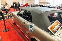费城, PA - 2月3日:1967年在2018年费城车展的Ford Mustang 库存图片