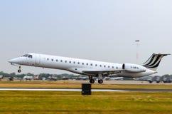 费尔福德,英国, 2018年7月13日:提供巴西航空工业公司的照片 库存照片