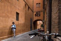 费拉拉,伊米莉亚罗马甘,意大利 免版税库存照片