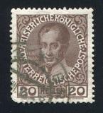 费迪南德奥地利邮票 免版税库存照片
