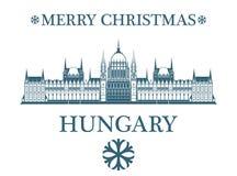 贺卡匈牙利 皇族释放例证