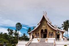 贺尔Prabang在琅勃拉邦,老挝人 免版税库存照片