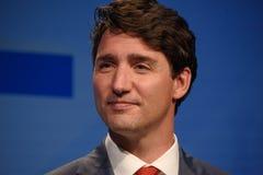 贾斯汀・杜鲁多,加拿大总理 库存照片