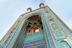 贾梅清真寺在亚兹德 伊朗 免版税库存图片