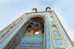 贾梅清真寺在亚兹德 伊朗 库存图片